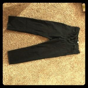 Forever 21 cropped black jeans